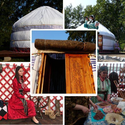Юрты для этноцентров, фестивалей