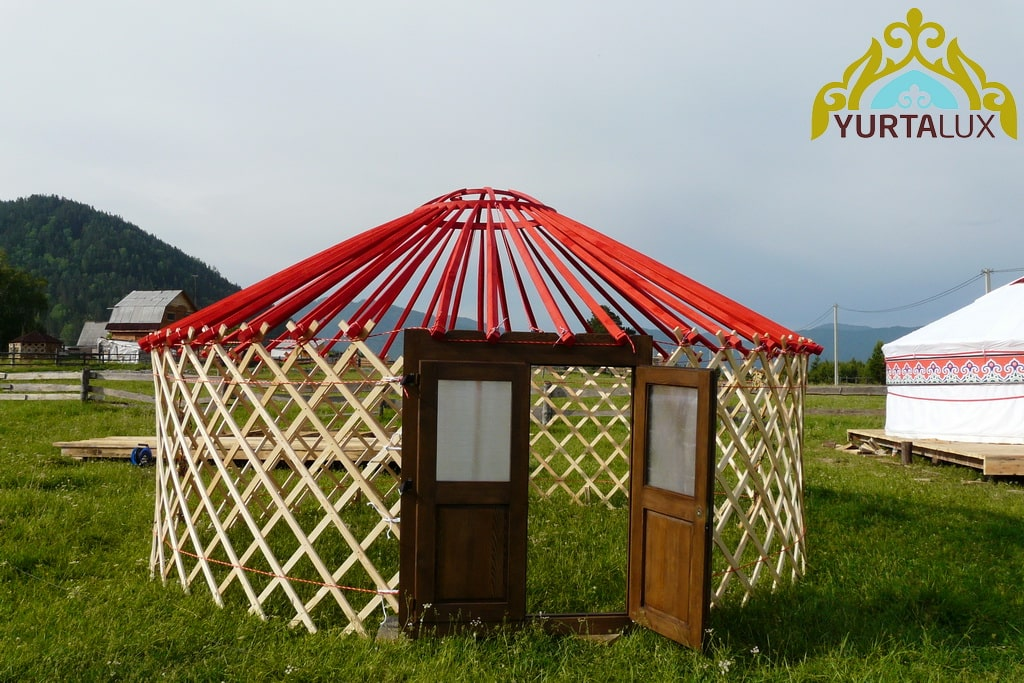 Complete sets of yurts of different sizes and equipment from the manufacturer YurtaLux.com