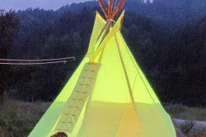 Индейский Типи , диаметр 3,5м