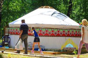 Юрта «Дом», диаметр 5.2-6м