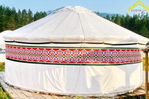 Юрта « Люкс», диаметр 5м