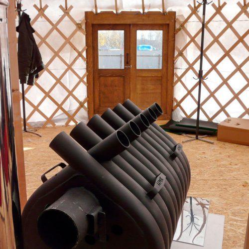 Wood Stove for Yurt